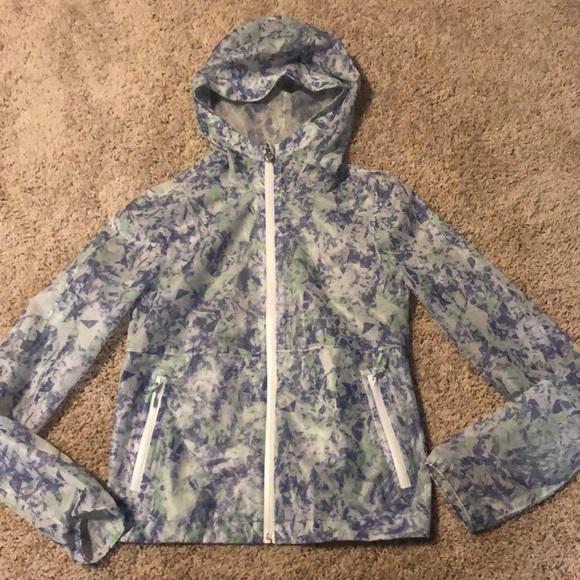 Girls Ivivva Windbreaker Jacket Sz 10 Like new